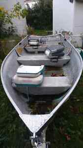 14' boat and trailer Cambridge Kitchener Area image 2