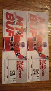 billet hockey a vendre