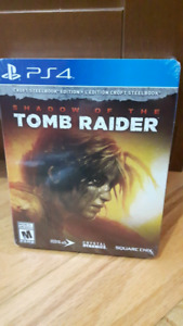 Shadow of the Tomb Raider Croft Steelbook Edition PS4