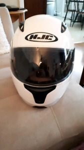 Mint White  full-face, motorcycle helmet (size small)