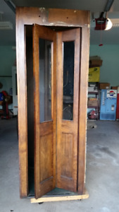 Wooden Phone Booth