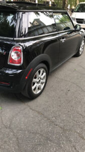 Mini Cooper S turbo midnight black