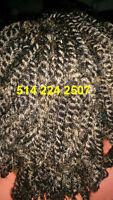 Tresses et Coiffure Africaine Crochet braid, Twist, Rallonge