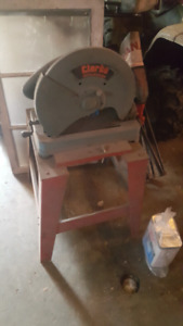 Clarke Chop Saw with Stand