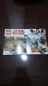 Lego Star Wars Jedi and Clones Battle (Instructions Only) 75206