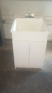 Cabinet for Laundry Sink