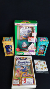 Snow White and the seven dwarfs collectables.