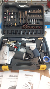 71piece MasterCraft air tool set for sale