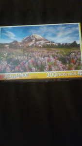 Small puzzle-mountain-300 pieces