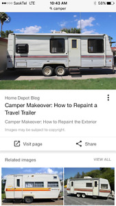 I'm looking for a camper