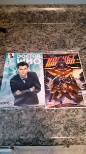 Comics from need block and lootcrate