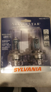 Sylvania Silverstar headlight bulbs
