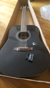 Epiphone DR-100 EB Acoustic Guitar Like New