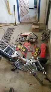 Crf 150f Honda dirt bike parts 400$ for everything you see