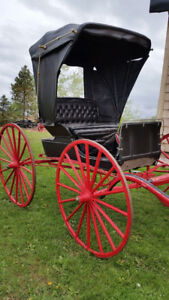 Horse buggy, carriage, carts, etcetera for sale, reduced prices!