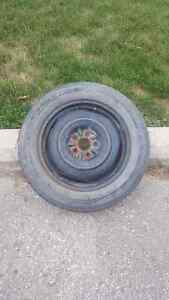 """Spare  Tire 17"""" with Rim"""