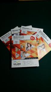 SOLARO Study Guides Ontario Grade 12 (6 Subjects)
