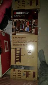 Closetmaid closet organizer kit $110 each or 200 for both.