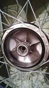 """2 Motorcycle front wheel 90/90-21 .54S New (21""""rim) West Island Greater Montréal image 5"""