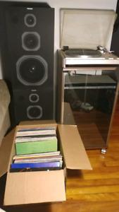 Disque vinyles 33 tours long jeux jvc