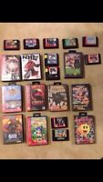 Sega Genesis with 20 Games, Tested and Working