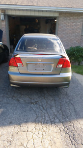 Parting out 2004 civic dx