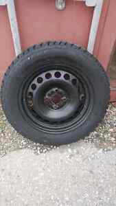 Winter Tires and Rims 4 bolt 195/60/R15  London Ontario image 1