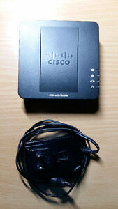 Linksys SPA122 VoIP ATA With Router