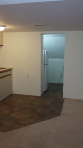 1 bedroom basement apartment available
