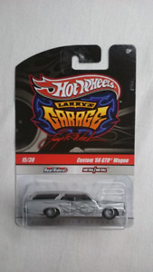 HOT WHEELS LARRY'S GARAGE CUSTOM 66 PONTIAC GTO WAGON DIECAST