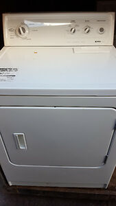 KENMORE electric dryer 100.00, white, clean, delivery available