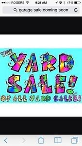 Coming soon yard sale!  Will post date & time