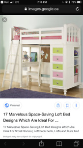 Bunk bed set -designer Panofsky