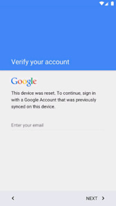 Google or Samsung locked account removal service
