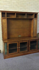 SOLID WOOD TV stand / entertainment unit