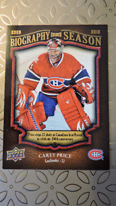 50 Montreal Canadian Hockey Cards