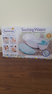 Summer Infant Soothing Waters Baby Bath & Spa