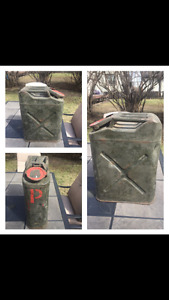 Antique Jerry Can Gas Can 3 available