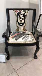 NOTORIOUS B I G  Chair