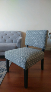Geometric Accent Chair - never used