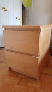 IKEA Bedroom Set  (drawer chests and Queen bed frame) for SALE!