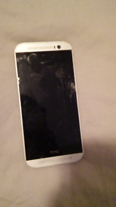 HTC phone with cracked screen- CLEARANCE