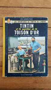 Tintin et la toison d'or album du film
