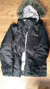 Women's Firefly winter jacket - black size large