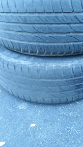 Mercedes Benz  195/60r15 rims with Barum summer tires