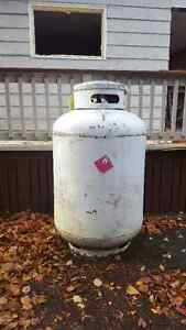 400 lb Propane Tank and 20% Propane Volume