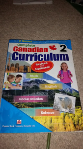 Canadian curriculum grade 2 gently used