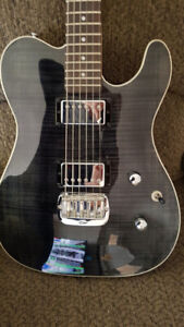 2017 G&L Tribute ASAT Deluxe Made in Indonesia In Trans Black ..