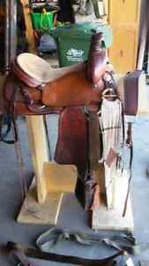 Western Saddle and Riding Gear