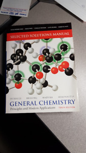 General chemistry by petrucci 10th edition buy sell items from selected solutions manual general chemistry 10th edition fandeluxe Gallery